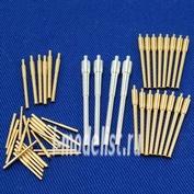 200L43 RB model 1/200 Металлические стволы Ruryk (Riurik) 4 x 203mm 16 x 152mm 6 x 120mm 10 x 47mm 12 x 37mm