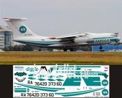I76-003 Ascensio 1/144 Декаль на самолёт Ильшин Ил-76ТД (Алроса)