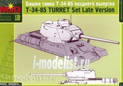 35023 Layout 1/35 Turret t-34/85 late release