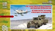 48002 Zebrano 1/48 Як-1 на лыжах + полуторка с установкой 4М