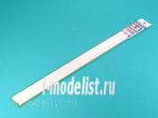70129 Tamiya Пластиковые стержни (квадратные белые матовые) 2х2мм длиной 40см (10шт)