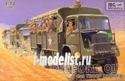 72003 IBG models 1/72 Bedford QLT Troop Carrier