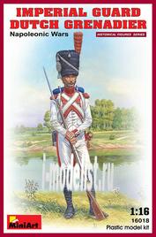 16018 MiniArt 1/16 Голландский гренадер императорской гвардии
