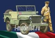 6355 Italeri 1/24 WILLYS JEEP 1/4 TON 4X4 ARMA DEI CARABINIERI