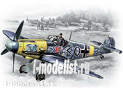 48102 ICM 1/48 Bf 109F-2, германский истребитель II MB