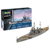 05161 Revell 1/1200 Линкор HMS King George V