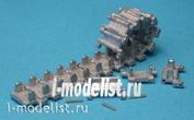 MTL-35041 MasterClub 1/35 Tracks inlaid iron and drive sprockets BMP-1