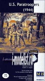 3511 MasterBox 1/35 U.S. Paratroopers (1944)