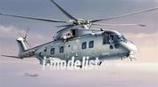 1295 Italeri 1/72 Вертолет Agusta Westland AW-101 TTI