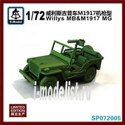 SP072005 S-Model 1/72 Willys mb and M1917
