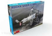 """41018 MiniArt 1/35 Разведывательный Автожир Focke Wulf FW C.30A """"Heuschrecke"""" Позднего Производства"""