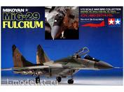 60704 Tamiya 1/72 Советский истребитель МиК-29 Fulcrum