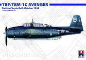 72010 Hobby 2000 1/72 Самолет TBF/TBM-1C Avenger - Battle of Leyte Gulf, October 1944