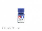 80308 Tamiya XF-8 Flat Blue (Синяя матовая) Эмалевая краска