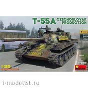 37084 MiniArt 1/35 Танк Т-55А Чехословацкого производства