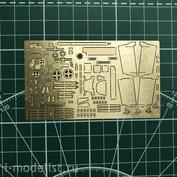 048205 Микродизайн 1/48 Фототравление для Bf-109/G6 от Звезды