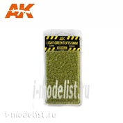 AK8118 AK Interactive Светло-зеленые пучки травы, 6 мм