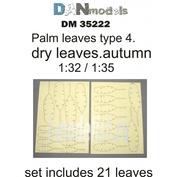 DM35222 DANmodel 1/35 Набор сухих желтых пальмовых листьев
