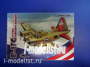 mPLANE-001 Meng B-17G FLYING FORTRESS BOMBER