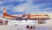 14467 Восточный экспресс 1/144 Пассажирский авиалайнер Ил-18Д