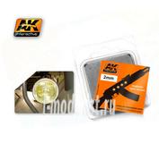 AK-208 AK Interactive Линзы прозрачные желтые AMBER 2mm