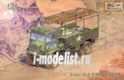 72005 IBG models 1/72 Bedford QL Fire Tender