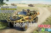 H35001 Hero Hobby 1/35 German Pkw.K2s Schwimmwagen Type 166