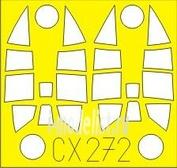 CX272 Eduard 1/72 Маска для Ki-84 Hayate/Frank