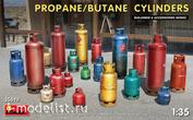 35619 MiniArt 1/35 Propane / Butane Cylinders