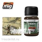 AMIG1201 Ammo Mig STREAKING GRIME FOR DAK (Потеки грязи африканский корпус)