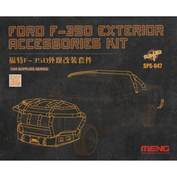 SPS-047 Meng 1/24 Ford F-350 Exterior Accessories kit