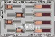 FE849 Eduard 1/48 Фототравление Walrus Mk. I стальные ремни