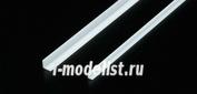 70200 Tamiya Пластиковые уголки (длина 40см, сторона 5мм,толщна стенки 1мм, 5шт)
