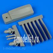 QB48 569 Quickboost 1/48 Пропеллер для  S2F Tracker propellers w/tool