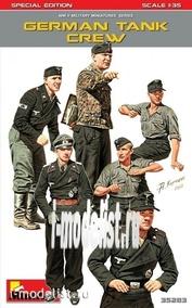 35283 MiniArt 1/35 German tank crew. SPECIAL EDITION
