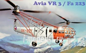 72005 AMP 1/72 Helicopter Avia Vr-3/Fa-223