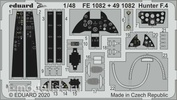 FE1082 Eduard 1/48 photo Etching for Hunter F. 4