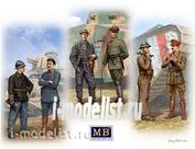35134 MasterBox 1/35 Танкисты первой Мировой войны