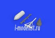 672121 Eduard 1/72 Дополнение для Spitfire 500-фунтовые бомбы
