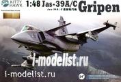 KH80117 KittyHawk 1/48 Saab JAS-39A/C Gripen