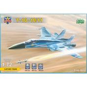 ModelSvit 1/72 72049 Frontline fighter T-10-10/11