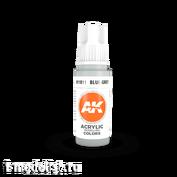 AK11011 AK Interactive acrylic Paint 3rd Generation Blue-Grey 17ml
