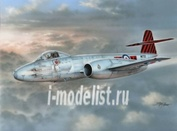 72531 MPM 1/72 Самолет Gloster Meteor F Mk.8