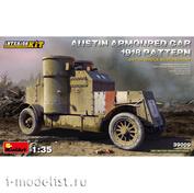 39009 MiniArt 1/35 Бронированный автомобиль Остин 1918 Британская служба.