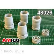 AMG48026 Amigo Models 1/48 Суххой-57 сопло двигателя АЛ-41Ф1С