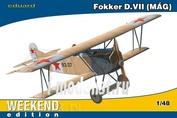 84156 Eduard 1/48 Биплан Первой Мировой войны Fokker D. VII MAG