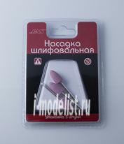 2318 JAS Насадка шлифовальная, оксид алюминия, пуля, 10 х 20 мм, 3 шт./уп., блистер