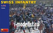 72009 MiniArt 1/72 Швейцарская пехота, IV век
