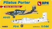BPK14403 BPK 1/144 AU-23 and PC-6
