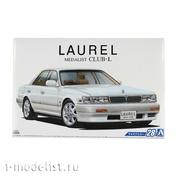 06128 Aoshima 1/24 Team model Nissan Laurel Medalist Club-L 91